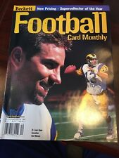 1999 Beckett Football Magazine: Kurt Warner - Rams QB