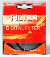 62mm Multi Coated UV Protection Filter, Other Sizes & Types Listed. UK Based