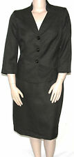 NWT Evan Picone Stand Collar Jacket & Pencil Skirt LODEN GREEN/14W