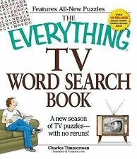 The Everything TV Word Search Book: A New Season of TV Puzzles - With No Reru...
