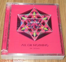 2NE1 2014 WORLD TOUR LIVE ALL OR NOTHING in SEOUL 2 CD + PHOTOBOOK + POSTCARD