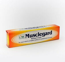 Natural Musclegard Herbal Cream -Rapid Relief for Backache & Muscular Pain 25g