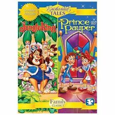 Enchanted Tales: The Jungle King/The Prince and the Pauper DVD Kids Animated New