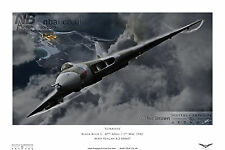 Avro Vulcan B.2 XM607 Operation Black Buck, Falklands War, Digital Art Print