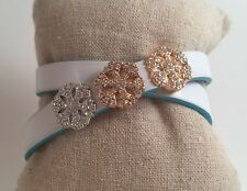 Snowflake Pave Slide Charm *New* Fits Keep Collective