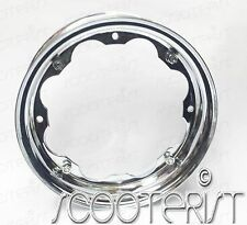 2 x Lambretta LI GP DL SX TV Special Chrome Plated Wheel Rim 3.50 x 10 Inches