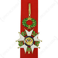 French Legion of Honour - Commandeur MEDAL repro with Red Ribbon - 3rd Class