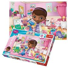Trefl 24 Piece Maxi Girls Disney Doc McStuffins Large Pieces Jigsaw Puzzle NEW