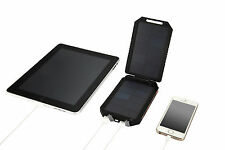 Solar Power Bank Extra Battery Portable Charger iPad Tablet Smartphone Camera