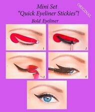 Quick Eyeliner Stickies Stencils Cosmetic Eye Makeup Tool MINI SET 24 pcs US1