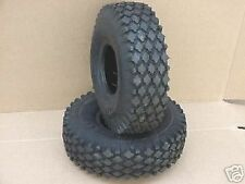 2 TIRES 410/350-6 FOR GO KART GO CART PARTS MINIBIKE