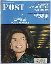 SATURDAY EVENING POST Mar 11 1967 * Jackie Kennedy * Skiing * Foreign Service