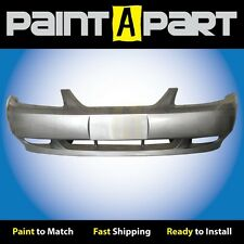 1999 2000 2001 Ford Mustang GTFront Bumper Painted TL Satin Silver Metallic