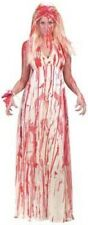 Carrie Bloody Prom Womens Halloween Fancy Dress Costume UK 10 - 12 P6048