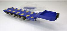Herpa 076388-006 semitiefladeauflieger con adjuntos rampas, violáceo