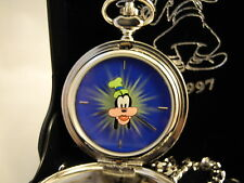 DISNEY MICKEY'S PAL GOOFY LIMITED EDITION POCKET WATCH NEW 65TH ANIV