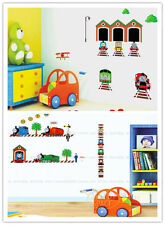 2 LARGE STICKER THOMAS THE TANK & FRIEND GAME TOY REMOVABLE WALL STICKERS DECOR