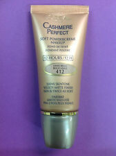 L'Oreal Cashmere Perfect Soft PowderCreme foundation SAND BEIGE #412 NEW