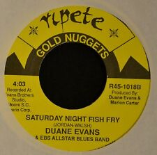 Duane Evans & EBS All Star Blues Band Ripete 1018 Saturday Night Fish Fry