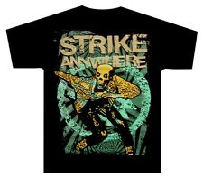 STRIKE ANYWHERE:Skanking Guy:T-shirt:NEW:MEDIUM ONLY