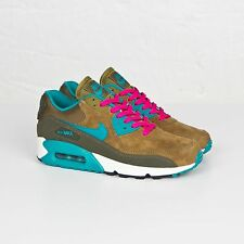 NIKE AIR MAX 90 LTHR WOMENS SHOES SIZE UK 3.5