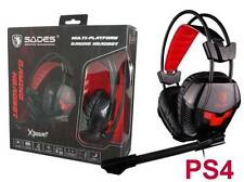 SADES SA-706 PC Xpower PS4 Gaming Headset Mic Chat BRAND NEW Genuine Melbourne