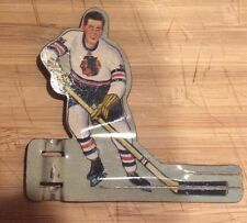 Vintage 1950's Eagle Toys hockey player-Chicago Blackhawks
