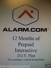 2gig Home Alarm DIY Monitoring No Contract 1 year prepaid W/ 3G GSM