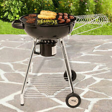 """Masterbuilt 22.5"""" Kettle Grill with Side Shelf Backyard Patio Grilling"""