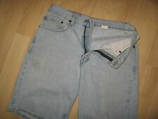 Levi's 550 Men's Shorts 32 - Levis Jeans Faded Light Blue Relaxed Fit Shorts 32W