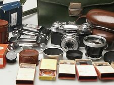 Zeiss Ikon Contaxflex Set