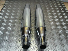 HARLEY DAVIDSON 2004 ON XL EXHAUST MUFFLERS SILENCERS END CANS *FREE UK POST*