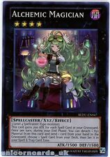 REDU-EN047 Alchemic Magician Super Rare UNL Edition Mint YuGiOh Card