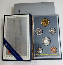 1991 SPECIMEN SET - ROYAL CANADIAN MINT 6-COIN SET - ORIGINAL CASE & CERTIFICATE