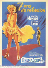Postcard: Vintage Movie Posters - 7 Ans De Reflexion (Seven Year Itch) (2014)