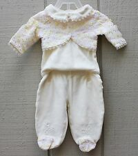 Baby Grand BABY OUTFIT YELLOW TWO PIECE SIZE 0-3 months