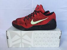 Nike Zoom Kobe IX 9 Elite Low University Red SIZE 11.5 Black Teal White 639045-6