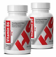 Womens Multi Vitamin 50 - VITAMIN B6 - Appetite Suppressant - 2 Bot