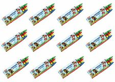 12 Packs of Paw Patrol Crayon Sets - Birthday Party Bag Fillers / Favor Toys
