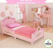 KIDKRAFT PRINCESS TODDLER BED - WOODEN GIRLS PINK JUNIOR BED