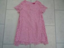 Beautiful Girls Primark Pink Lace Summer Party Dress Age 2/3 Years VGC