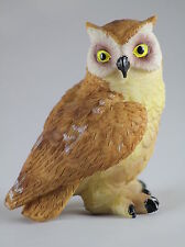 EAGLE OWL POLYRESIN MODEL / ORNAMENT - GREAT GIFT FOR BIRD LOVERS!!