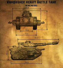 Leman Russ Vanquisher Warhammer 40.000 Imperial Guard Epic scale