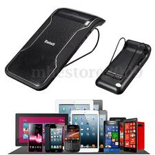 Wireless Bluetooth Multipoint Speakerphone Hands-free Speaker Car Kit Sun Visor