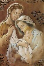 Heilige Familie Postkarte Heiligenbild Weihnachten Jesus Maria Josef HBP-G 5002