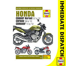 [5572] Honda CB600 Hornet CBF600 CBR600F 2007-12 Haynes Workshop Manual
