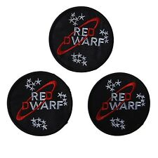 Red Dwarf Television Show Embroidered Patch Set of 3