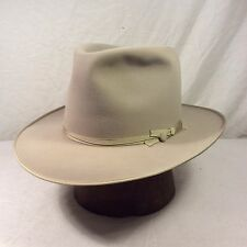 "Silverbelly Stetson ""Twenty Five"" Open Road Hat with Silverbelly Ribbon-- Size 7"