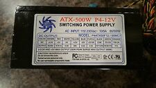 Athena Power ATX500W  P4-12V Switching Power Supply Tested & Works Computer