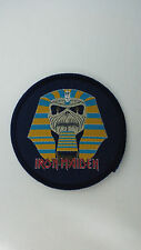 Iron Maiden world slavery round rare vintage music patch Sew On